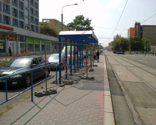 Zastávky tramvaje DPMO